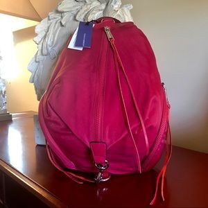 Rebecca Minkoff - Julian Back pack in Beet Red NWT